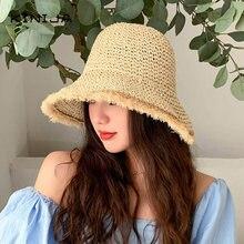 Модная гавайская пляжная шляпа женская повседневная солнцезащитная