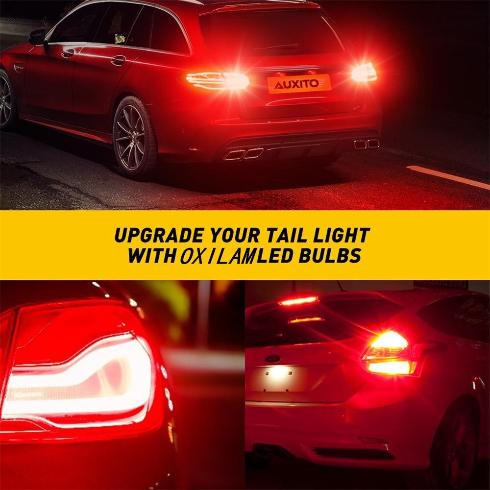 2x 7443 t20 w21/5w 7444 wy21w светодиодные автомобильные лампы