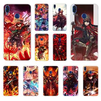 Luxury soft Case For Huawei Honor 30 20 Pro 10 9 9X Lite 10i 9a 8a 7a 30s Cover Oda Nobunaga image
