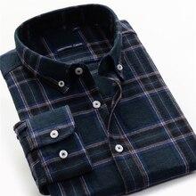 Artı boyutu 5XL 6XL 7XL 8XL 9XL 10XL erkek Casual marka ekose gömlek % 100% pamuk 2020 yeni iş yama gevşek oduncu gömleği erkek