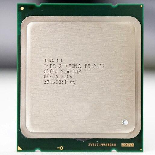 Intel Xeon E5 2689 LGA 2011 2.6GHz 8 Core 16 Threads CPU Processor E5 2689 best match X79|CPUs| - AliExpress