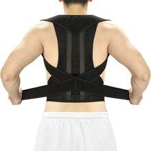 Aptoco – Correcteur réglable de posture dorsale, orthèse, soutien de la clavicule pour arrêter lavachissement, entraîneur du dos, unisexe
