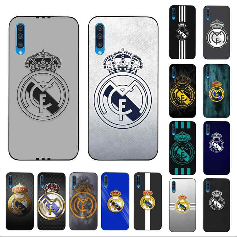 Maiyaca Voetbal Voetbal Game Logo Zwart Tpu Soft Phone Case Cover Voor Samsung A10 20 S 71 51 10 S 20 30 40 50 70 A30s Cover