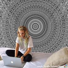 Mandala Tapestry Beach Mat Yoga Mat Bedspread Table Cloth Hot New Decorative Wall Hanging Bohemia Indian Hippie Home 210x148cm