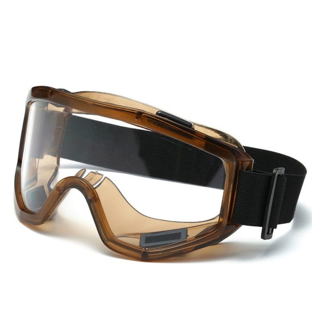 Winter Warm Ski Goggles Windproof Dustproof Anti-fog With Adjustable Elastic Head Band Road Racing Eyewear For Outdoor Climbing