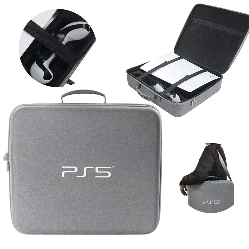 Travel Storage Handbag For PS5 Console Protective Luxury Bag Adjustable Handle Bag For
