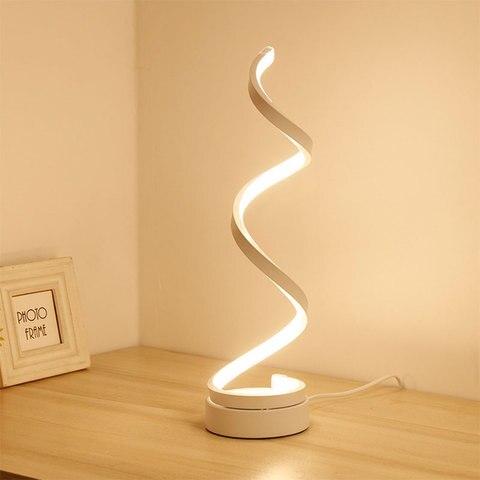 nova arte minimalista candeeiros de mesa led moda regulavel lampada de mesa decoracao da casa