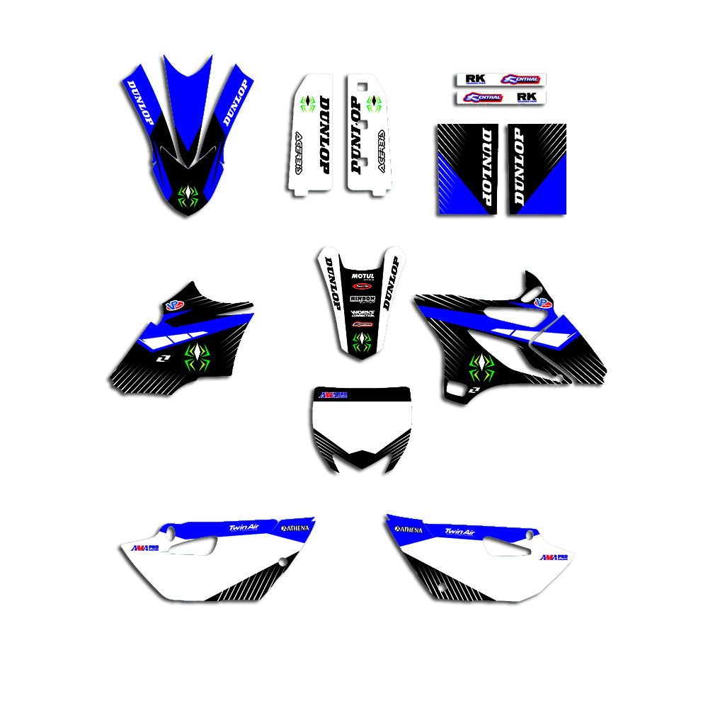 Motorcycle Accessories Decal Sticker Kit For Yamaha YZ85 YZ 85 2015 2016 2017 2018 2019 2020 Team Graphic Decorative Stickers