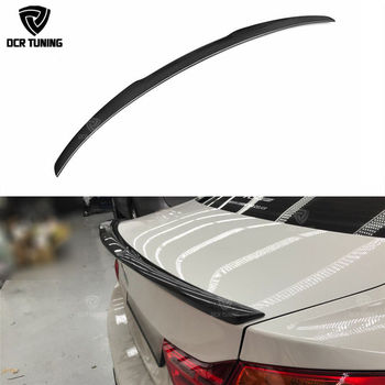 For BMW F32 Carbon Spoiler 4 Series 2 Door Coupe F32 Carbon Fiber Rear Trunk Spoiler M4 Style 2014 2015 2016 - UP 420i 428i 430i