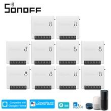SONOFF R2 Mini MINIR2 WiFi akıllı anahtarı DIY aletleri otomasyonu uzaktan kumanda anahtarı zamanlayıcı Alexa Google ev WiFi anahtarı