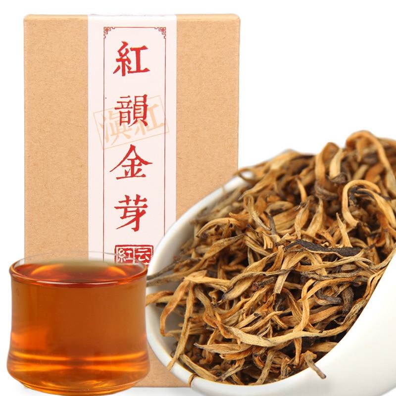5A China Yunnan Fengqing Dian Hong Premium Red Rhyme DianHong Black Tea Beauty Slimming Food For Health Weight Lose Tea 70g/Box