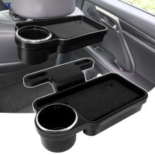 Folding Universal Car Food Tray Drink Cup Holder Auto Back Seat Table Phone Mount Stand Storage Headrest  Organizer Travel Tidy