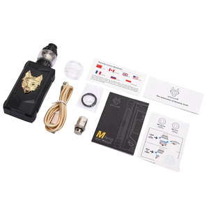 Image 5 - Original SnowWolf Mfeng 200W TC Vape Kit With 6mL Tank Atomizer Electronic Cigarette Kit Support Dual 18650 Battery VS DRAG 2