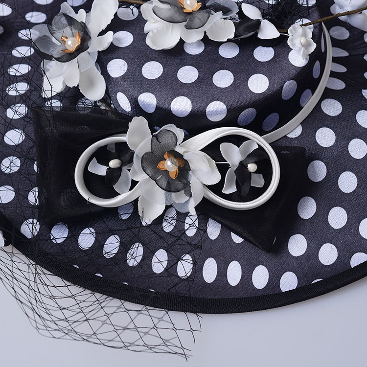 Bride Bowler Hat Black Lace Gauze Feather Bowler Hat Headdress Wedding Fascinators And Hats Wedding Hat