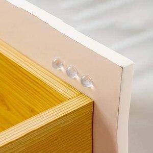 100 шт. 12 мм x 4 мм дверные упоры самоклеющиеся силиконовые прокладки бамперы для шкафа Резиновый Буфер Заслонки подушки мебельная фурнитура