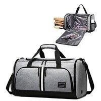 TUGUAN Marke Männer Sneaker Reisetasche Schuhe und Kleidung Organizer Duffle Tasche Große Kapazität Wasserdichte Tasche