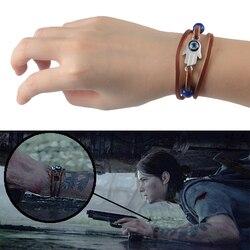 O último de nós 2 parte ii ellie dina pulseira olho do diabo contas azuis pulseira acessórios do jogo novo
