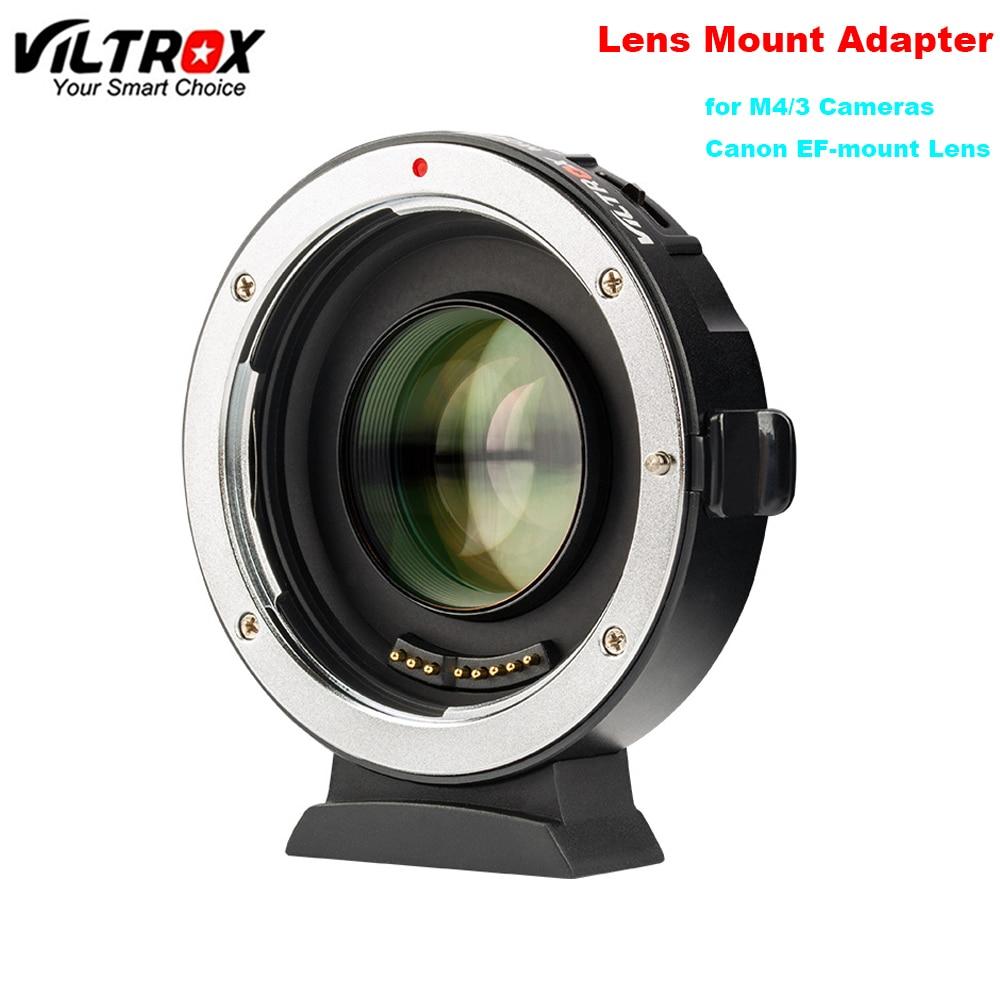 Viltrox EF M2II Автофокус усилитель скорости адаптер фокусное расстояние редуктор 0.71x для Canon EF Крепление объектива для Panasonic Olympus M4/3 камеры