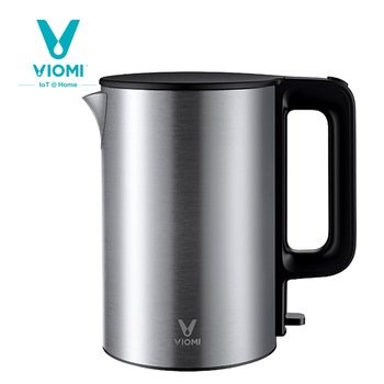 Original Viomi 220V 1800W 1.5L Electric Kettle Stainless Steel Water Kettle Heating Pot Teapot Quick Heating From Xiaomi Youpin