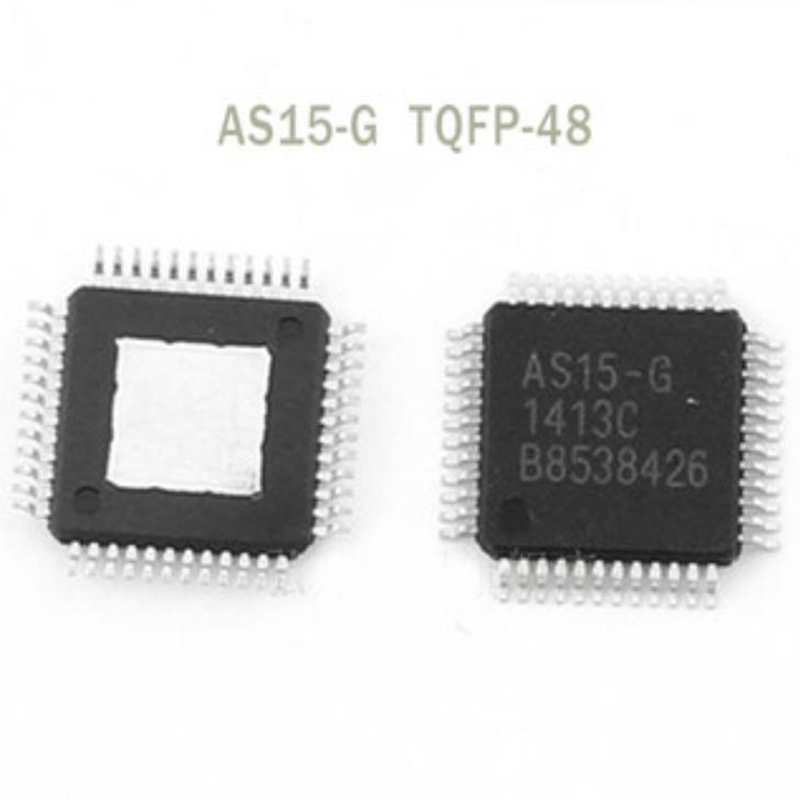 new 10PCS AS15-F <font><b>AS15F</b></font> <font><b>QFP48</b></font> AS15 Original LCD chip image
