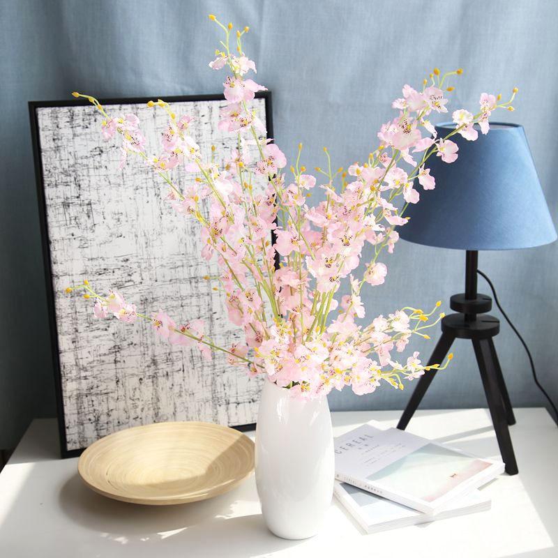 100 см поддельный цветок фаленопсис Бонсай домашний сад бонсай четыре сезона Бонсай цветочных растений куст декоративные поддельные цветы