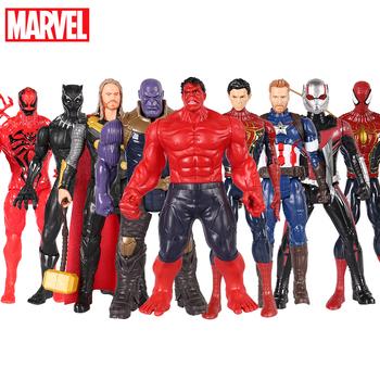 30cm Marvel Avengers Hulk Spiderman Thanos czarna pantera wdowa Venom kolekcja Model postaci lalki dla dzieci zabawki tanie i dobre opinie Disney Adult 25-36m 4-6y 7-12y 12 + y CN (pochodzenie) Unisex Keep away from fire 12 30cm PIERWSZA EDYCJA Peryferyjne