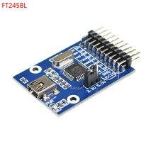 Ft245 módulo usb ft245r ft245rl usb placa de desenvolvimento de comunicação kit usb para paralelo fifo ft245bl