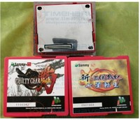 Sammy atomiswave reproduction used Game Cartridge Knights Valour card Guilty Gear cartridge for Atomiswave JAMMA motherboard