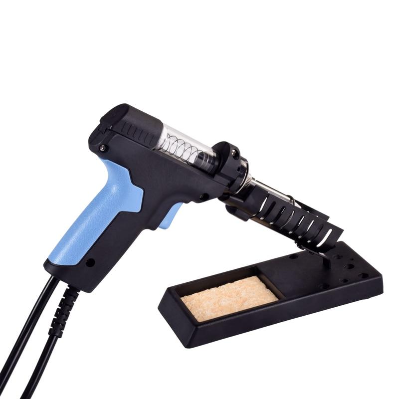 Tools : Qsunrun  Ebakey New Release  ESD LCD Digital Electric Desoldering Pump BGA Desoldering Suction Vacuum Solder Sucker Gun