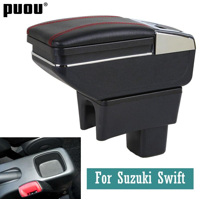 Новый Контейнер для хранения для подлокотника Suzuki Swift 2005-2020