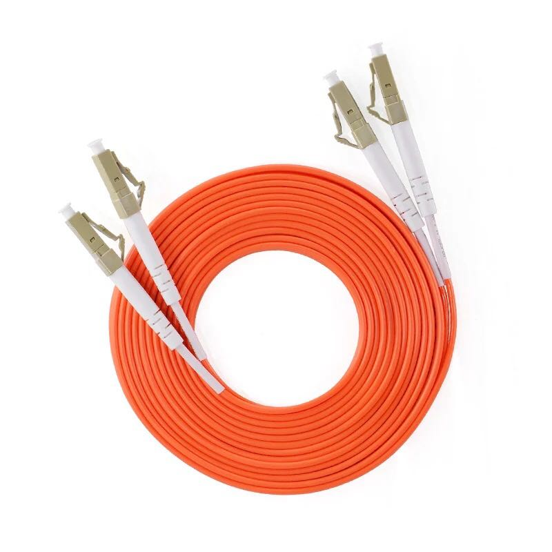 5pcs/lot Jumper Cable Duplex Multimode LC-LC LC To LC Fiber Optic Optical Patch Cord