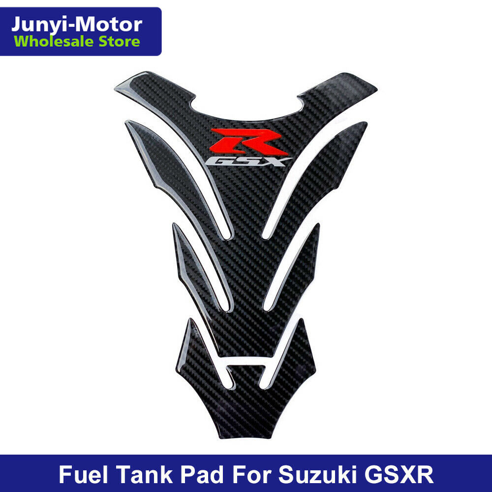 3D Motorcycle Carbon Look Gas Oil Fuel Tank Pad Protector Sticker Decal For Suzuki GSX-R GSXR 750 600 1000 For Hayabusa GSXR1300