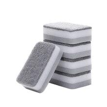 Pan Scouring-Pad Cleaning-Brush Kitchen-Pot Washing-Sponge Strong-Clean Dish-Bowl Window