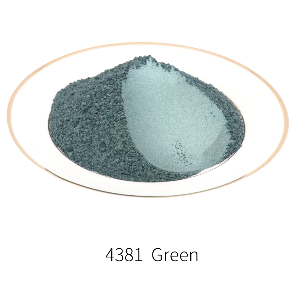 Pigment Pearl Powder Healthy Natural Mineral Mica Powder DIY Dye Colorant  For Soap Cars Art Crafts Eye Shadow Type 4381 10/50g