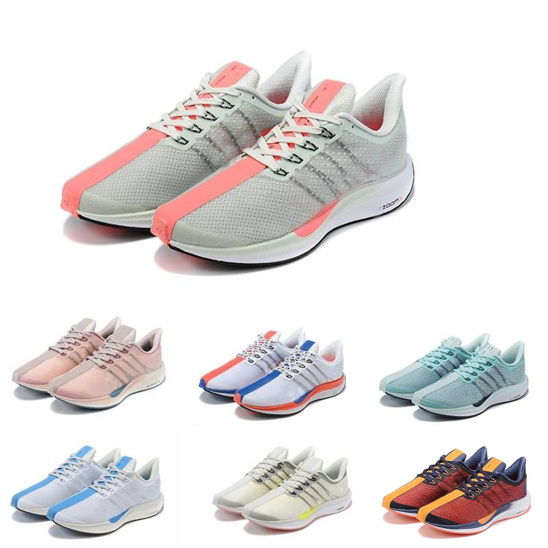 New Zoom Pegasus Turbo 36 Barely Grey Hot Punch Black White Shoes Chaussures Men Women React 87 Zoom X 35 Trainers