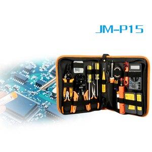 Image 3 - 17 in 1 repair Tool Kit Elektronische RJ45 RJ11 LAN Tester Networking tester Netzwerk Kabel Tracker Zange Crimp Crimper Stecker clamp