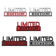 Limited Edition Car Body Fender Side Emblem Rear Trunk Badge Sticker Metal Universal