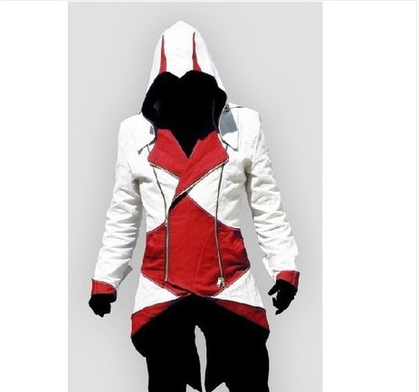 YOUYI Assassins Creed Cosplay Connor Jacket Costume