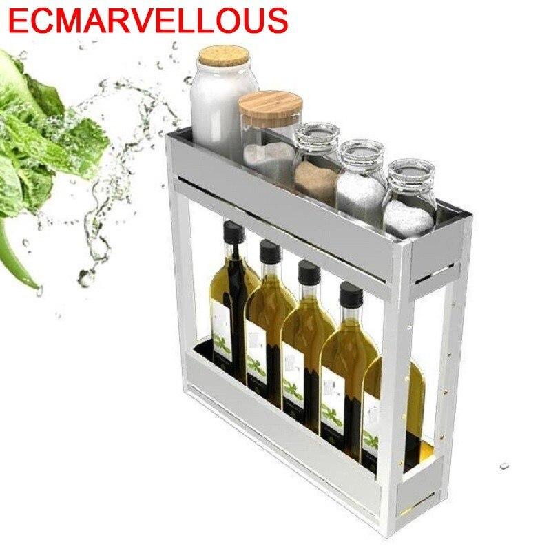 Kuchnia Organizador Armario Cocina Cupboard Cucina Stainless Steel Cozinha Organizer Rack Kitchen Cabinet Storage Basket