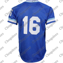 Baseball Jersey Bo Jackson Practice-Jersey-Royal Ness Mesh City-Mitchell Tall Batting