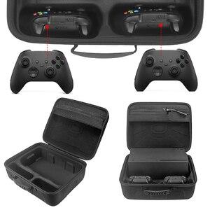 Image 3 - נסיעות משחק קונסולת אחסון תיק מקרה נרתיק עמיד הלם תיבת נסיעות נשיאה אלחוטי בקר מקרה עבור Xbox סדרת X Controll