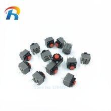 10-100 pces 6*6*7.3 kailh quadrado silencioso mouse micro interruptor mudo interruptor pode substituir um retângulo micro interruptor 8 milhões de vida