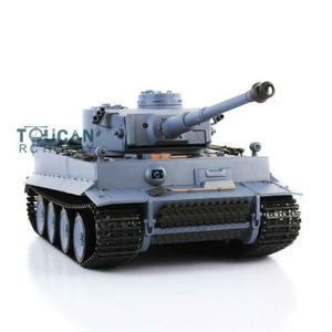 Image 4 - Henglong 1/16 6.0 Plastic Tiger I RC Tank 3818 360 Turret Barrel Recoil FPV TH16095