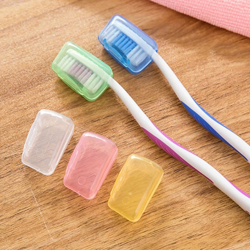 5 pièces brosse à dents couvre-tête Portable brosse à dents couvre-chef voyage brosse capuchon étui dent nettoyant protecteur salle de bain accessoires
