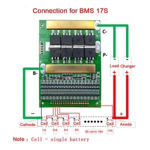 Image 5 - 6 17 BMS 35A 50A 80A 120A 150A18650 LiFePo4 Pin Lithium Có Thể Điều Chỉnh Cân Bằng 72V Cân Bằng Ban Bảo Vệ cho Động Cơ Điện