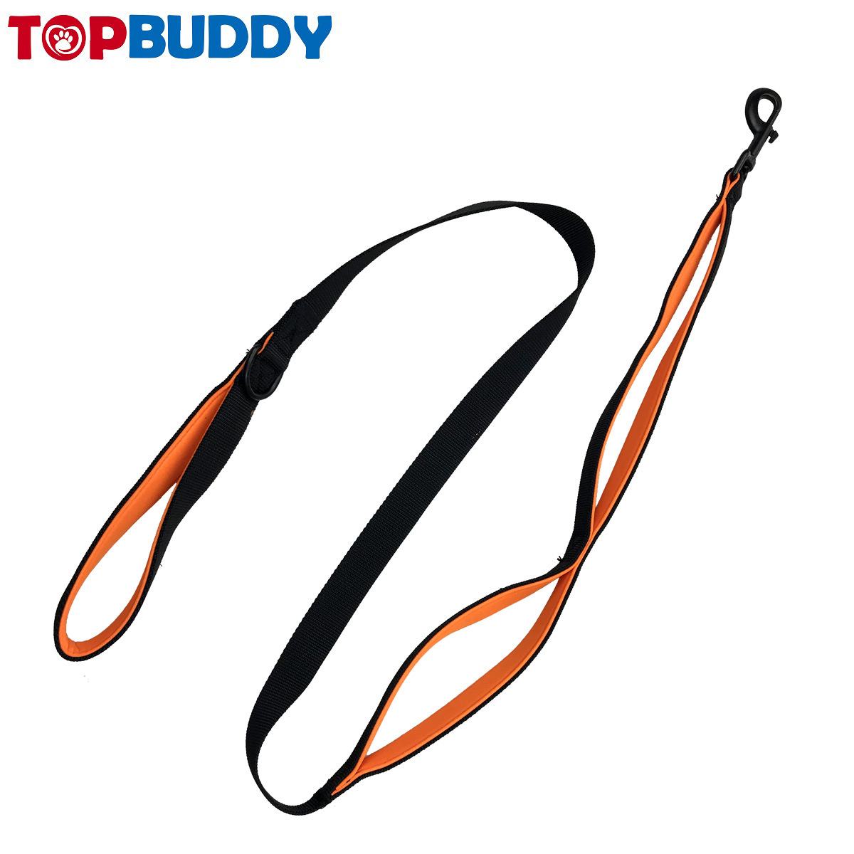 Multi-functional Pet Traction Rope Nylon Double Handle Hand Holding Rope Adjustable Hand Guard Hand Holding Rope Dog Traction