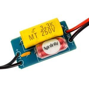 Image 3 - Tenghong 2 قطعة 1 طريقة النقي الصوت التريبل المتحدثون كروس 40W 4/6Ohm سيارة تعديل مكبر كروس تصفية تردد مقسم DIY