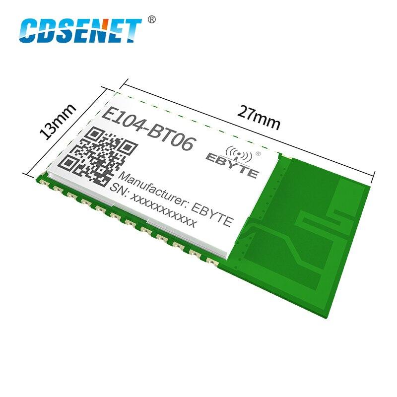 E104-BT06 2.4GHz 3dBm UART Serial Port BLE Bluetooth Wireless Module BLE4.2 Protocol Transparent Transmission Module Smart Home