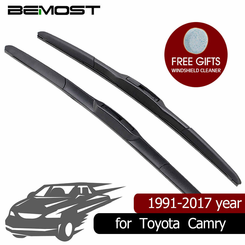 """Fit For TOYOTA CAMRY XV50 2012-2017 2016 Windshield Front Wiper Blades 26/"""" 18/"""""""