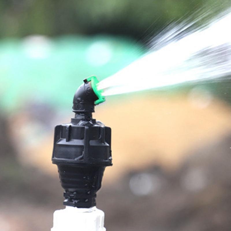 Высокая вода давление 360 градусов вращение полив всплывающее окно распыление насадка спринклер встроенный спринклер